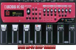 BOSS RC-50 LOOP STATION