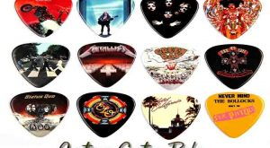 how to make custom guitar picks