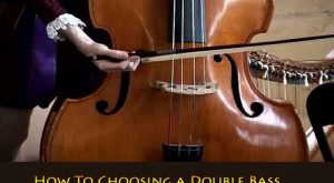 double bass lesson