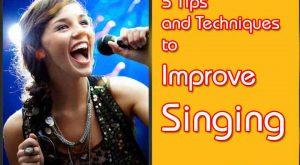 Techniques to Improve Singing
