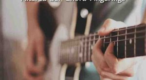 Altered Bar Chord Fingerings
