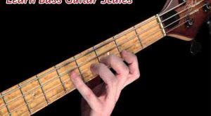 How to Learn Bass Guitar Scales