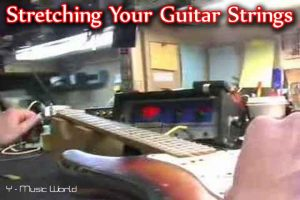 how to stretch guitar strings,guitar strings,guitar,stretching guitar strings,how to,stretch guitar strings,strings,stretching new guitar strings ,how to stretch your guitar strings,