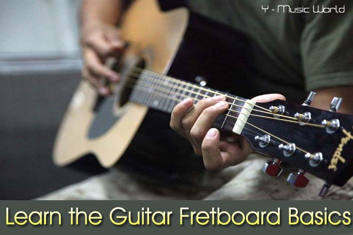Learn the Guitar, Fretboard Basics,Learn the Guitar Fretboard Basics,