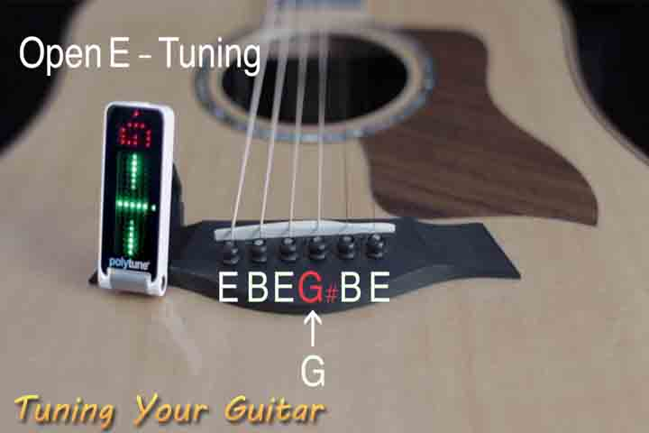 guitar tuning how to