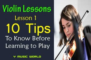 10 Tips to Know Before Learning to Play the Violin